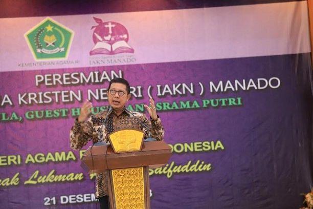 Menteri Agama, Lukman Hakim Saifuddin, Kemenag/Humas.