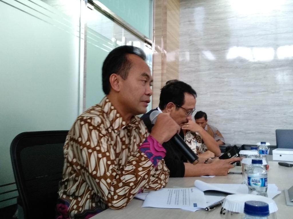 Sekretaris Kementerian Koordinator Bidang Perekonomian Susiwijono. (FOTO: Medcom.id/Desi Angriani)