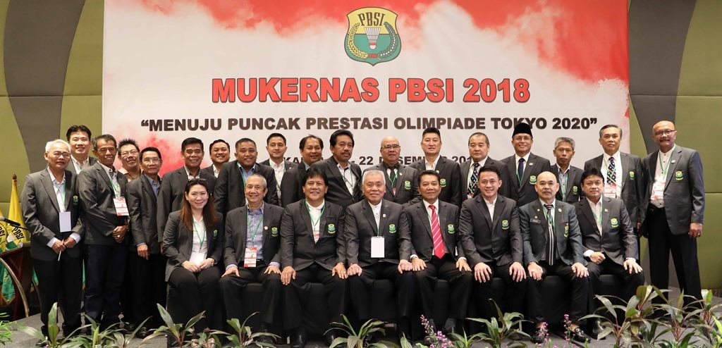 Suasana Mukernas PBSI 2018. (Foto: Badmintonindonesia.org)