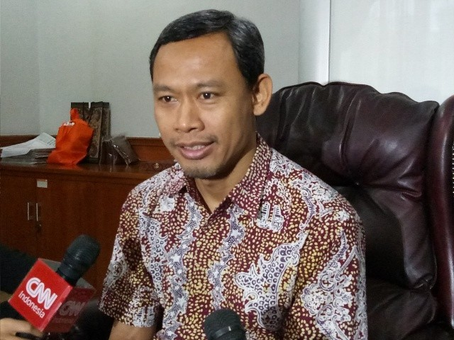 Komisioner KPU, Pramono Ubaid Tanthowi - Medcom.id/Siti Yona Hukmana.