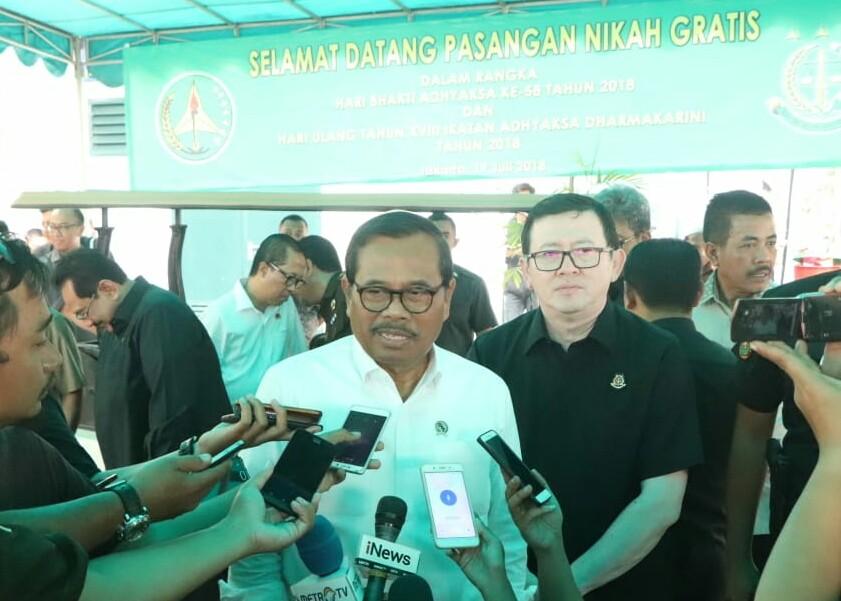Jaksa Agung M Prasetyo. Foto: Medcom.id/Ilham Wibowo
