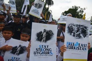 Aksi Bela Uighur Digelar di Berbagai Wilayah
