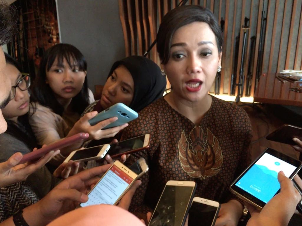 Direktur Utama KSEI Friderica Widyasari Dewi. (FOTO: Medcom.id/Dian Ihsan)