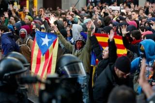 Kunjungan PM Spanyol Ditolak Warga Catalonia