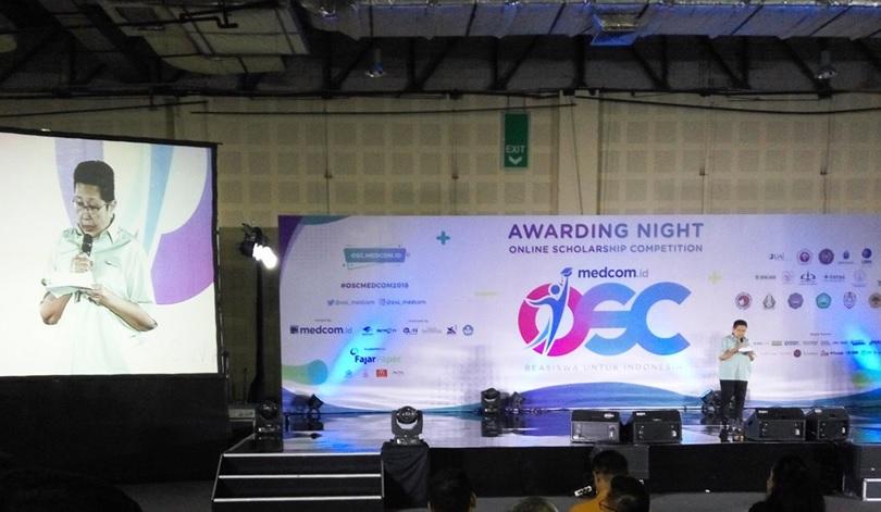 Awarding Night OSC 2018. (Foto: Medcom.id/ Anggi Tondi)