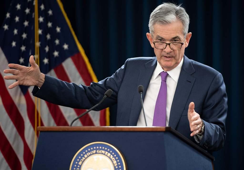 Ketua The Fed Jerome Powell (SAUL LOEB/AFP)