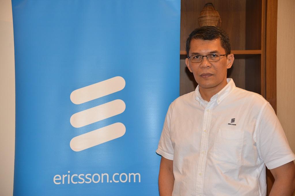 Ronni Nurmal, Ericsson Indonesia