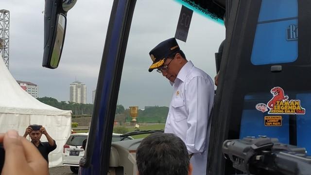 Menteri Perhubungan Budi Karya Sumadi. Foto: Medcom.id/Ilham Pratama.
