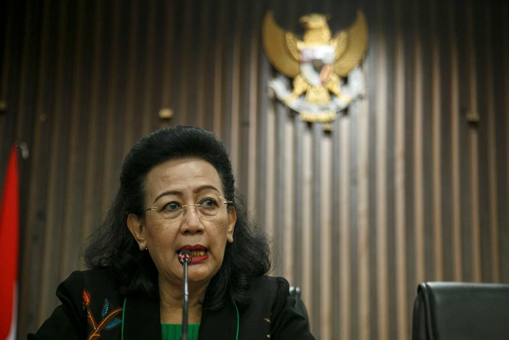 Anggota Dewan Perwakilan Daerah (DPD) GKR Hemas. ANT/Hendra Nurdiyansyah.
