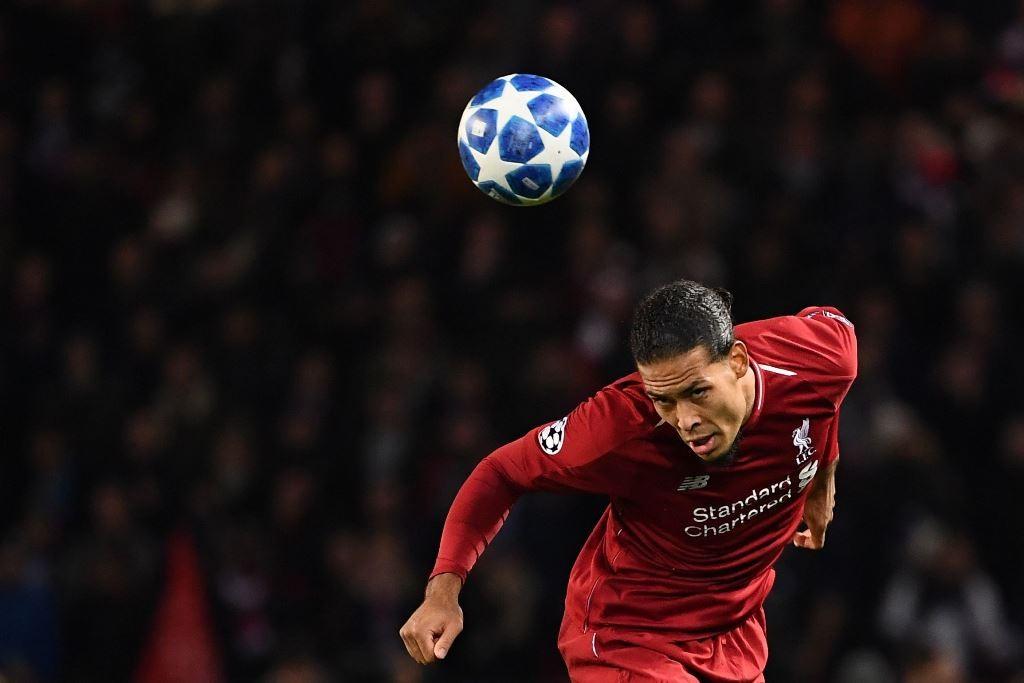 Bek tengah Liverpool, Virgil van Dijk. (Foto: FRANCK FIFE / AFP)