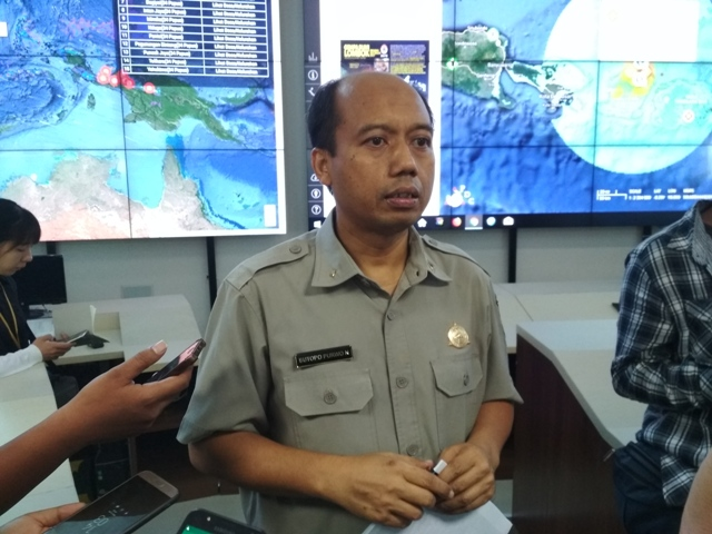 Kepala Data dan Informasi Badan Nasional Penanggulangan Bencana (BNPB) Sutopo Purwo Nugroho/Medcom.id/Deny Irwanto.