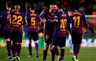 Dembele dan Messi Bantu Barcelona Hantam Celta Vigo
