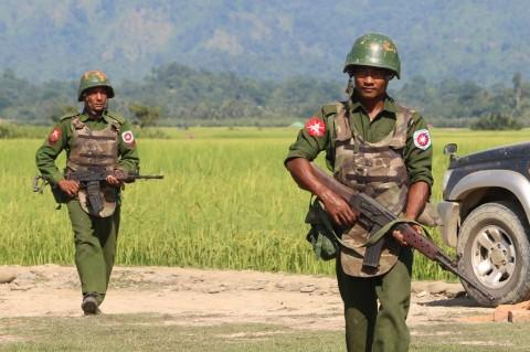 Tentara Myanmar Ditemukan Tewas di Rakhine