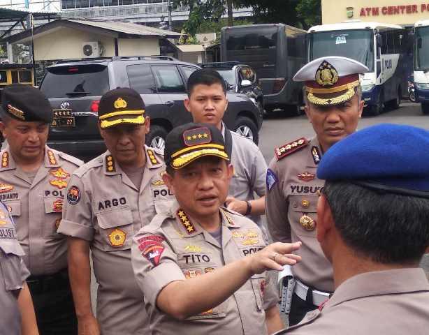 Kapolri Jenderal Tito Karnavian--Medcom.id/Muhammad Al Hasan.