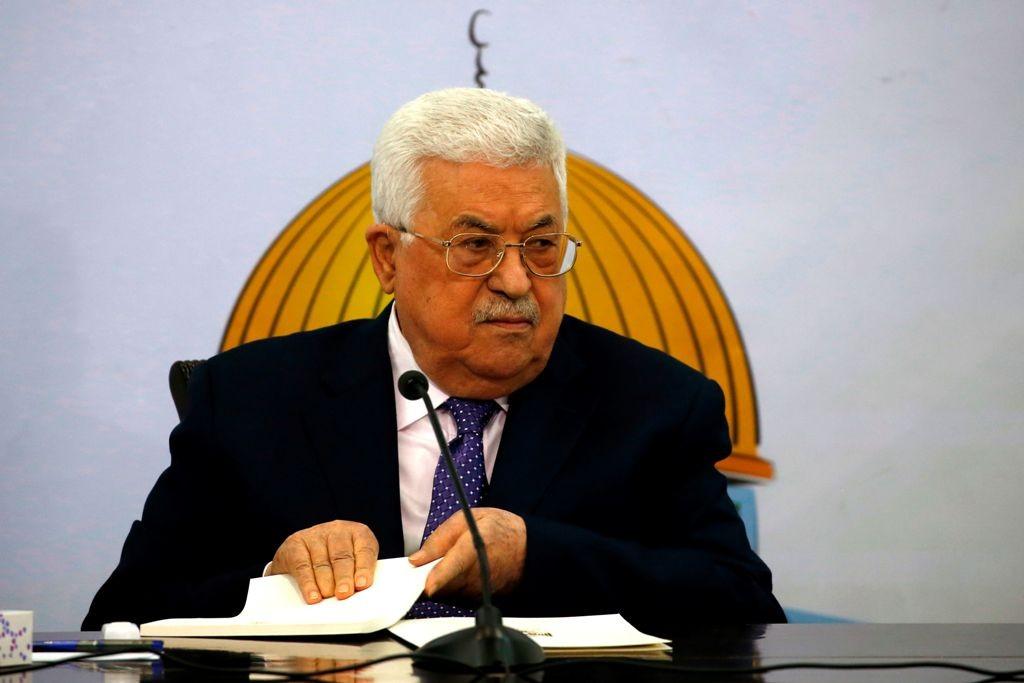 Presiden Palestina Mahmoud Abbas. (Foto: AFP)