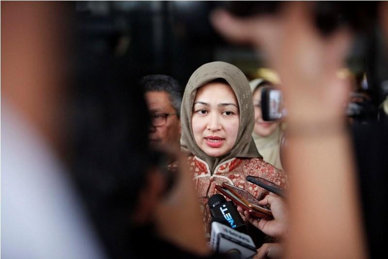 Wali Kota Tangerang Selatan Airin Rachmi Diany. MI/ ROMMY PUJIANTO.