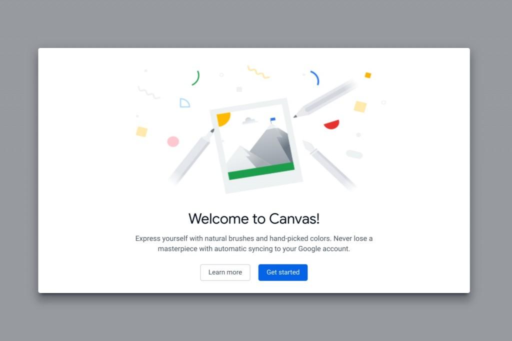 Google Canvas.