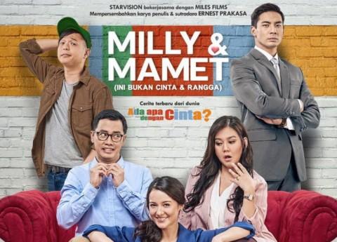 Dua Hari Tayang, Milly & Mamet Raup Penjualan 222 Ribu Tiket