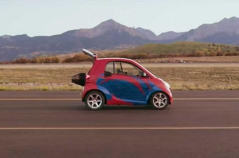 Ini Smart ForTwo Tercepat di Dunia
