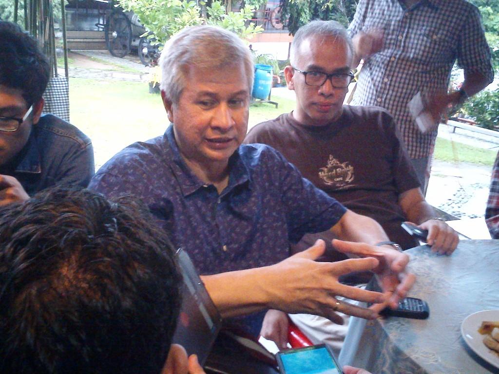 Corporate Secretary Bank Mandiri Rohan Hafas. (FOTO: Medcom.id/Angga Bratadharma)