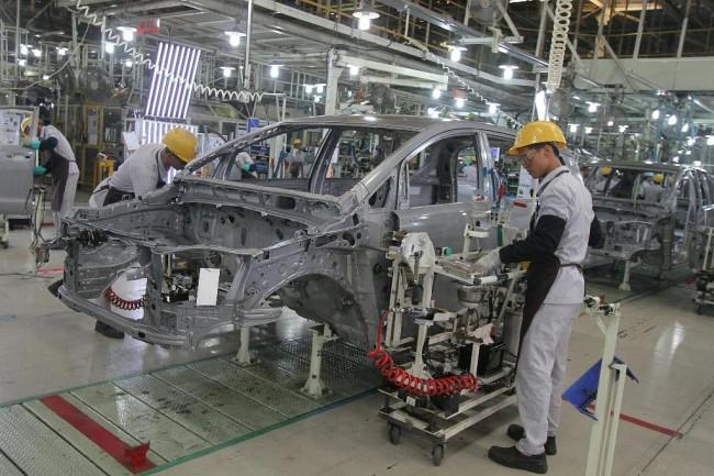 Hyundai berinisiatif bangun pabrik besar di Indonesia. ilustrasi: MI/ARYA MANGGALA
