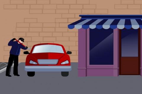 Terjebak dalam Mobil, Pencuri di Norwegia Minta Tolong Polisi