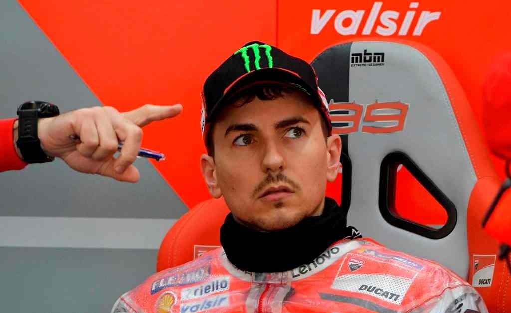 Mantan pembalap Ducati, Jorge Lorenzo (AFP/Jose Jordan)