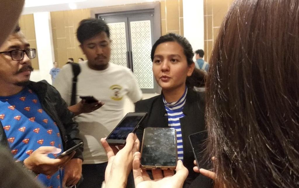 Sekjen PSSI Ratu Tisha Destria (Medcom.id/Rendy Renuki H)