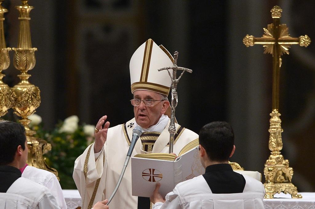 Paus Fransiskus. (Foto: AFP)
