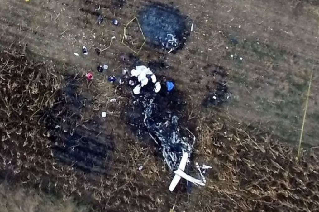 Kecelakaan dilaporkan terjadi tak lama usai helikopter lepas landas di Puebla, Meksiko, 24 Desember 2018. (Foto: AFP/GETTY IMAGES)