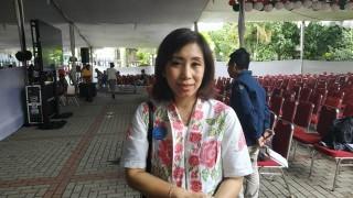 Ratusan Personel Polri Amankan Katedral Jakarta