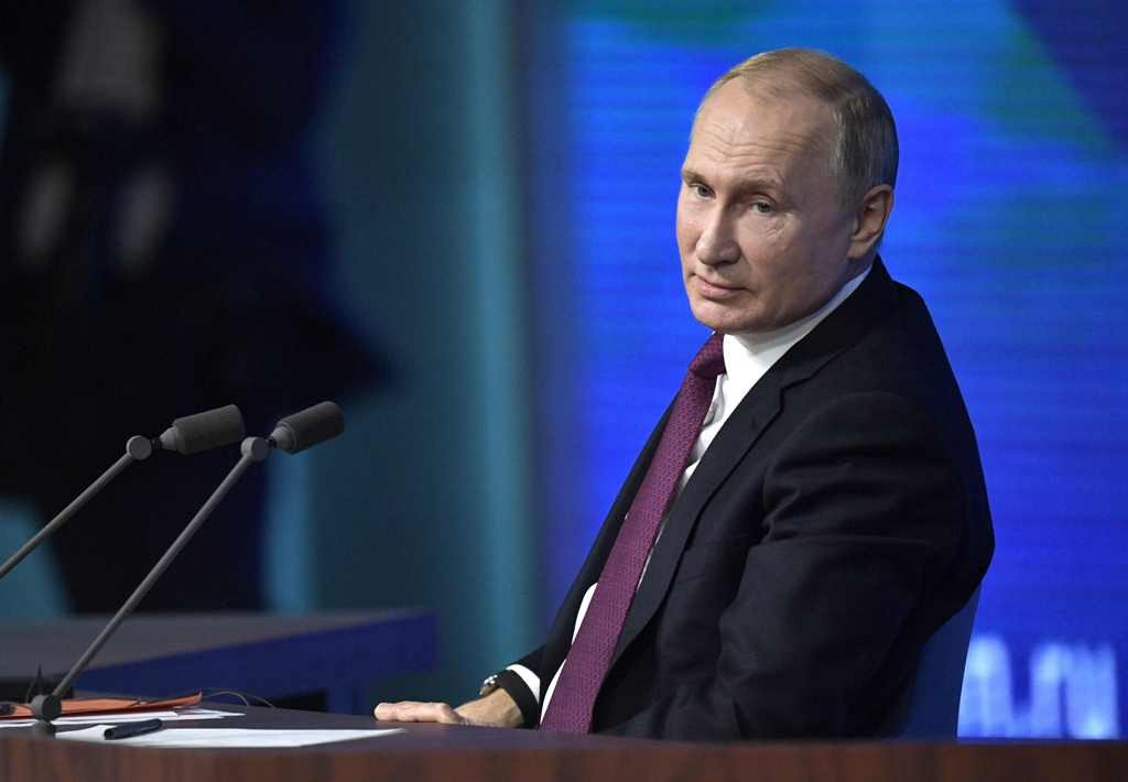 Presiden Rusia Vladimir Putin (Alexey NIKOLSKY/SPUTNIK/AFP)