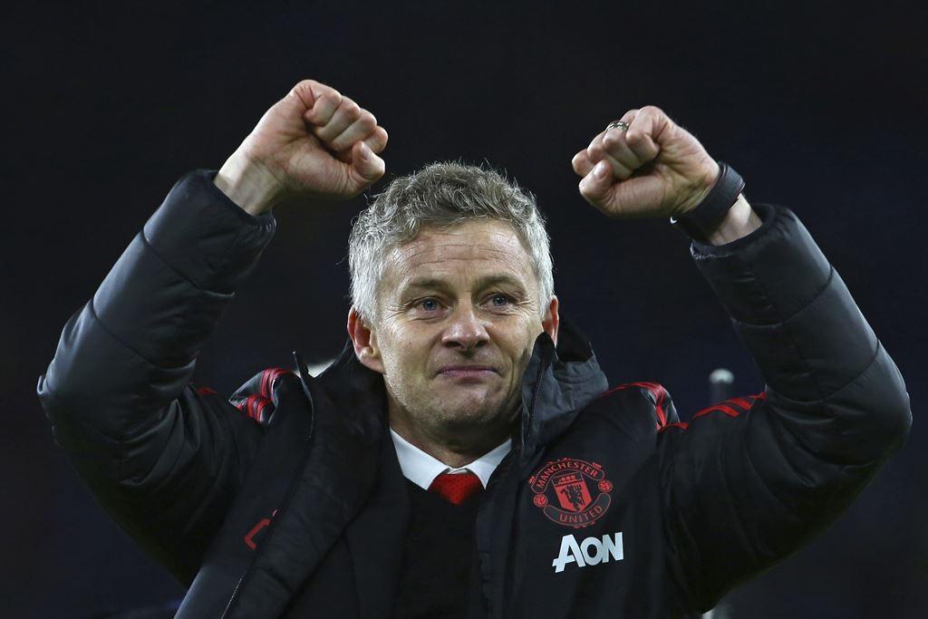 Pelatih Manchester United, Ole Gunnar Solskjaer. (Geoff CADDICK / AFP)