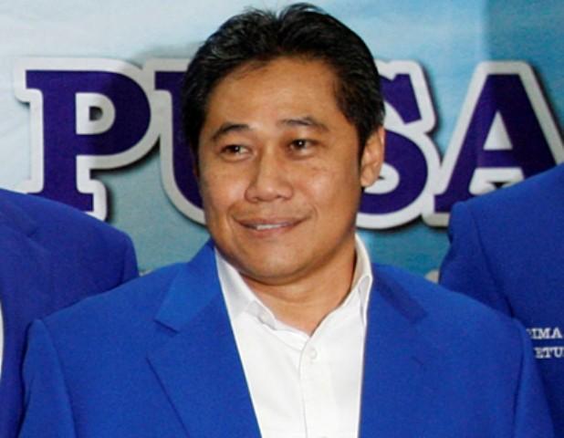 Bendahara Umum (Bendum) DPP Partai Amanat Nasional (PAN) Nasrullah--MI/Adam Dwi