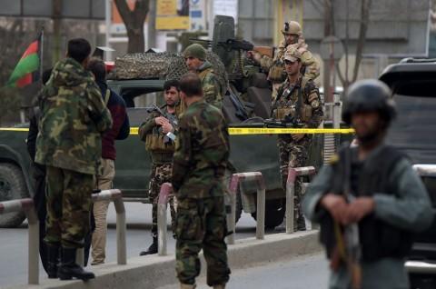 Korban Serangan di Gedung Pemerintah Afghanistan Jadi 43