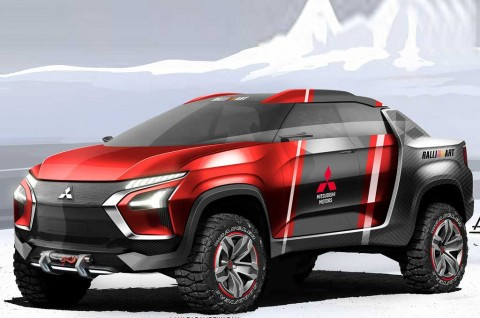 Mitsubishi Ute, Wujud Imajinasi Ajay Parameswaran