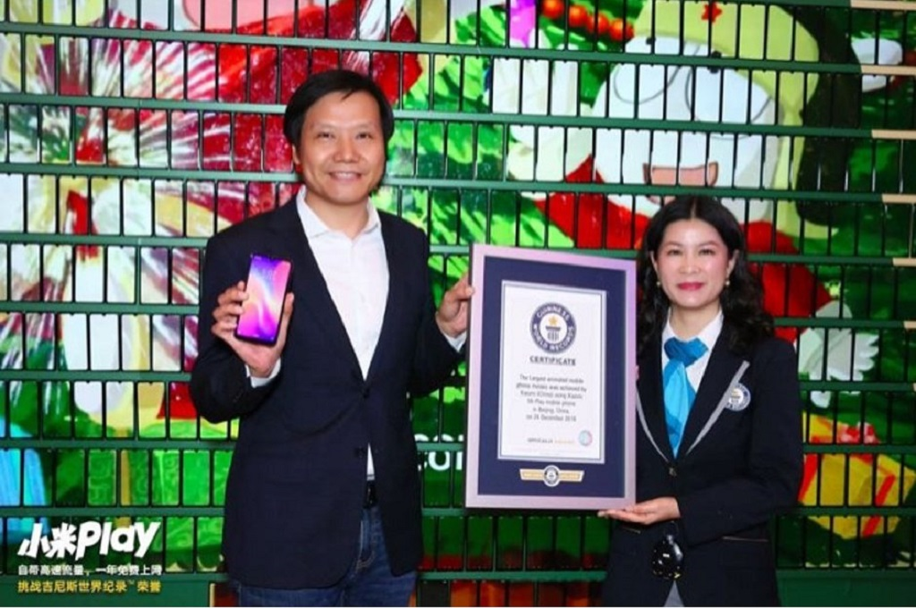 Mi Play bawa Xiaomi masuk ke Guiness Book of World Records.