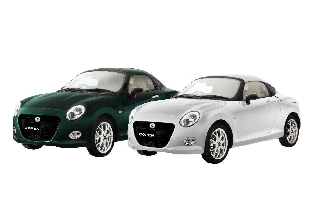 Daihatsu Copen Coupe hanya ada 200 unit. Daihatsu