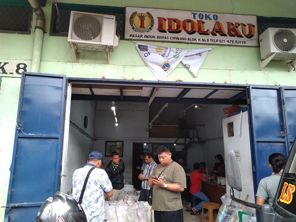 Toko Beras Idolaku (Foto: Medcom.id/Ilham Wibowo)