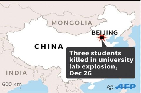 Tiga Mahasiwa Tewas dalam Ledakan di Lab Tiongkok