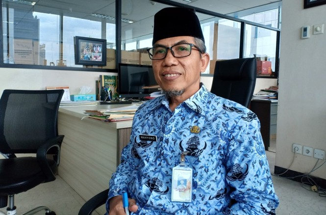 Kepala Pengendalian Badan Kepegawaian Daerah DKI Jakarta Wahyono. Foto: Medcom.id/Cindy