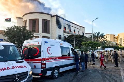 Arab Saudi Kutuk Serangan ISIS di Kemenlu Libya