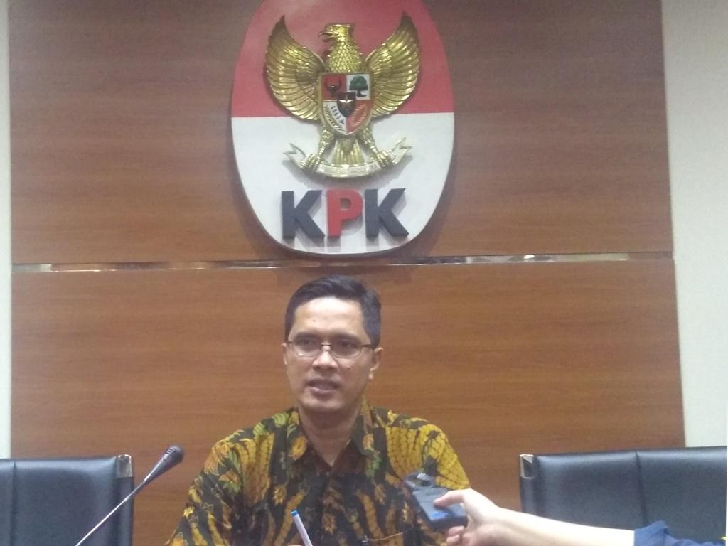 Juru Bicara Komisi Pemberantasan Korupsi Febri Diansyah. Foto Medcom.id/Kautsar Widya Prabowo.