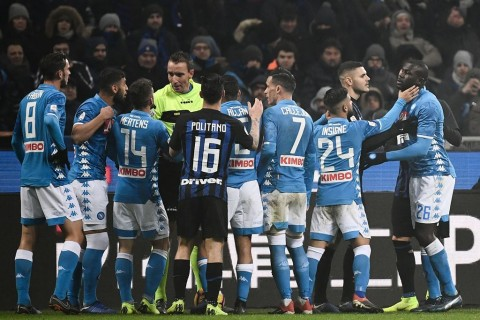 Kemenangan Inter atas Napoli Berbau Rasialisme