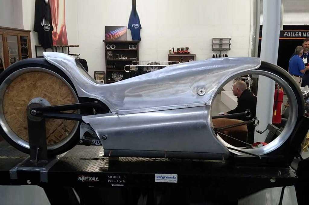 The Majestic, motor listrik modifikasi bergaya cafe racer. Rideapart