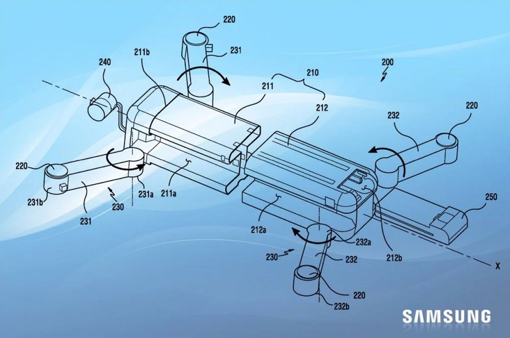 Samsung dilaporkan bersiap untuk memasuki pasar drone, diindikasikan oleh paten yang didaftarkannya.