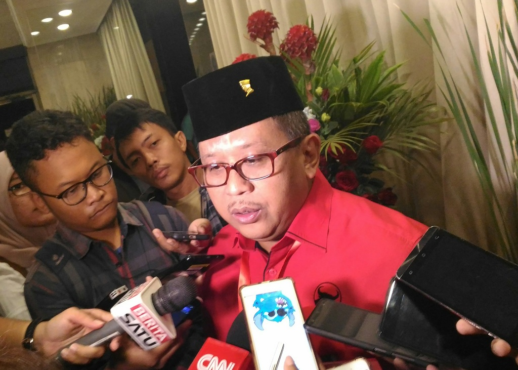 Sekjen DPP PDI Perjuangan Hasto Kristiyanto. Foto: Medcom.id/Ilham Wibowo.