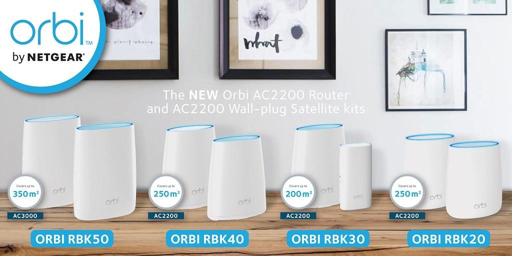 Solusi Orbi Family dari Netgear untuk rumah pintar
