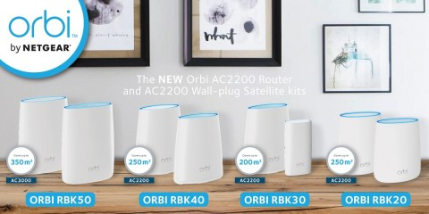Netgear Orbi WiFi System  Tipe Terbaru, Performa Tinggi, Harga Lebih Terjangkau
