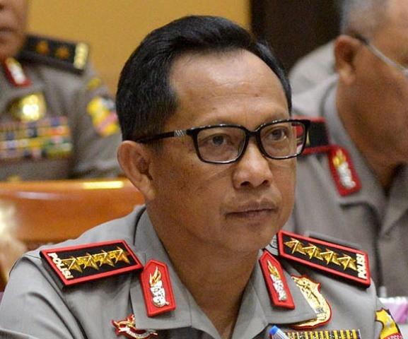 Kapolri Jenderal Tito Karnavian--MI/Susanto